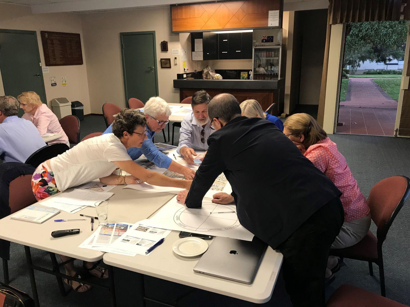 Mosman Park Town Centre Study project Workshop